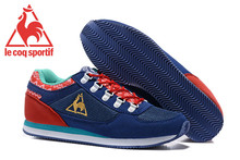 Free Shipping Classic Men's Sports Shoes,New Arrivals Original Le Coq Sportif Men's Running Shoes Navy Blue/Red Size Eur 40-45