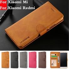 Coque Xiaomi Mi A2 Lite 6X Phone Case Xiaomi Redmi 4A 5 Plus 6 Pro Flip Leather Wallet Case Redmi Note 6 5 4 4X Funda hoesje