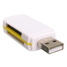 Smart All In One Card Reader Multi In 1 Card Reader SD/SDHC MMC/RS MMC TF MicroSD MS PRO MS DUO M2 USB 2.0 Card Reader