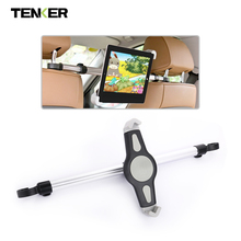 TENKER 7-11 Inch Tablet Stand Car Back Seat Holder Support for Macbook Ipad PC Laptop Notebook Aluminum Mount Auto Headrest(China)
