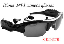 iZone Smart Sunglasses MP3 Player DVR Mini Camera Camcorder Video Recorder Support Micro support 8G 16G 32G SD Card