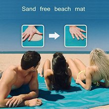 Beach Mat Sand Proof Rug Picnic Blanket Sand Dirt & Dust disapper Fast Dry Easy to Clean Beach Sand Free Mat SH1025(China)