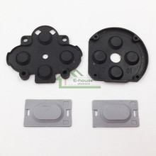 High Quality FAT D Pads Rubber L R Button Conductive Rubber Pads Replacement for PSP1000 for PSP 1000 Game Console