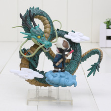 Anime Dragon Ball Z Goku games Museum Collection Shenron Son Goku Action Figure model Toy(China)