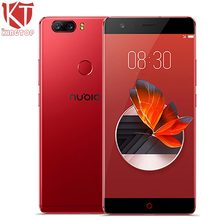 "KT Original ZTE Nubia Z17 Borderless Mobile Phone 6GB RAM 64GB ROM Snapdragon 835 Octa Core 5.5"" 23MP Android 7.1 4G Cell Phone(China)"