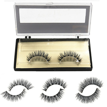 1 Pair Soft Mink Natural Long Thick False Fake Eyelashes Eye Lashes Extension