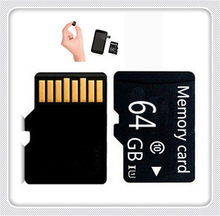 HOt sale Class 10 for 32G-64G Micro memory card TF card Memory Card T-Flash super mini Transflash Class 6 for 1-16GB +adapter