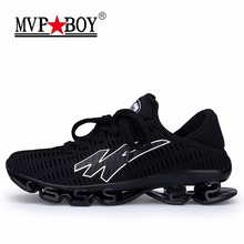 MVPBOY Men's Running Shoes Springblade Sneakers Cushioning Outdoor Sport Shoes for Men Lightweight Athletic Shoes Male plus size(China)