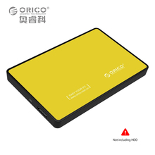 ORICO 2588US3 USB3.0 2.5 Tool Free HDD SSD 5GBPS Enclosure External SATA Hard Disk Case High Speed Portable For Windows Mac OS