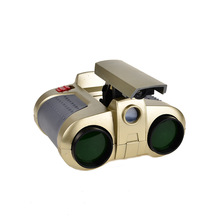 BOHS Night Scope Binocular with Pop up Light Telescope Spotlights Green Film with Light Lens Viewing Focusers Toys(China)