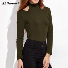 Buy Women Long Sleeve Shirt loose white army green tops sexy office ladies work wear womens clothing shirt Blouses shirts blouse xl for $12.83 in AliExpress store