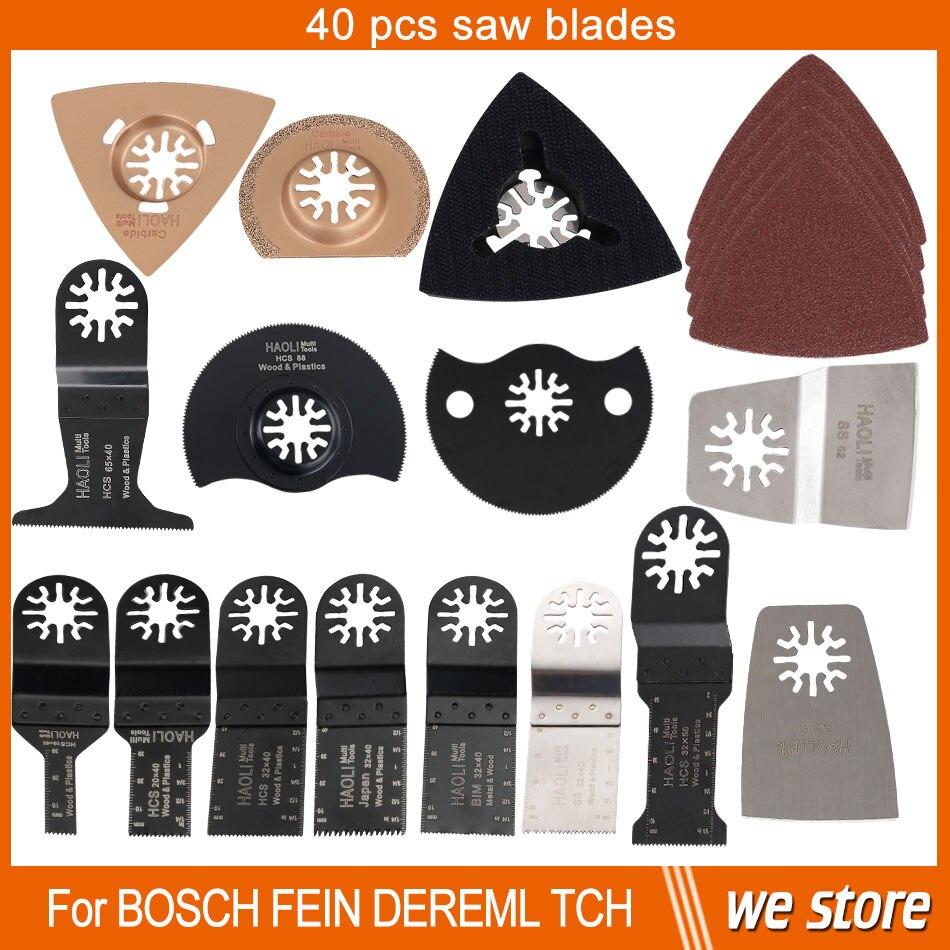 40 pcs oscillating multi tool saw blade for multifunction power tools as Fein multimaster,Dremel etc,metal cutting,free shipping<br><br>Aliexpress