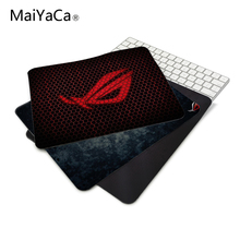 Rug anti-slip mouse diy design republic asus rog gamer pc large gaming laptop mouse pad black paint rubber mouse pad