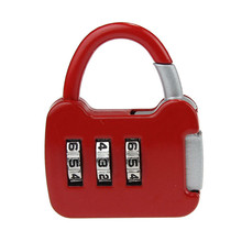 Travel Resettable 3Digit Safe Combination Luggage Code Suitcase Lock L70222