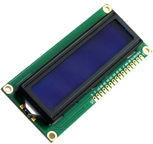 LCD1602 LCD 1602 blue screen with backlight LCD display 1602-5v for Arduino Duemilanove Robot