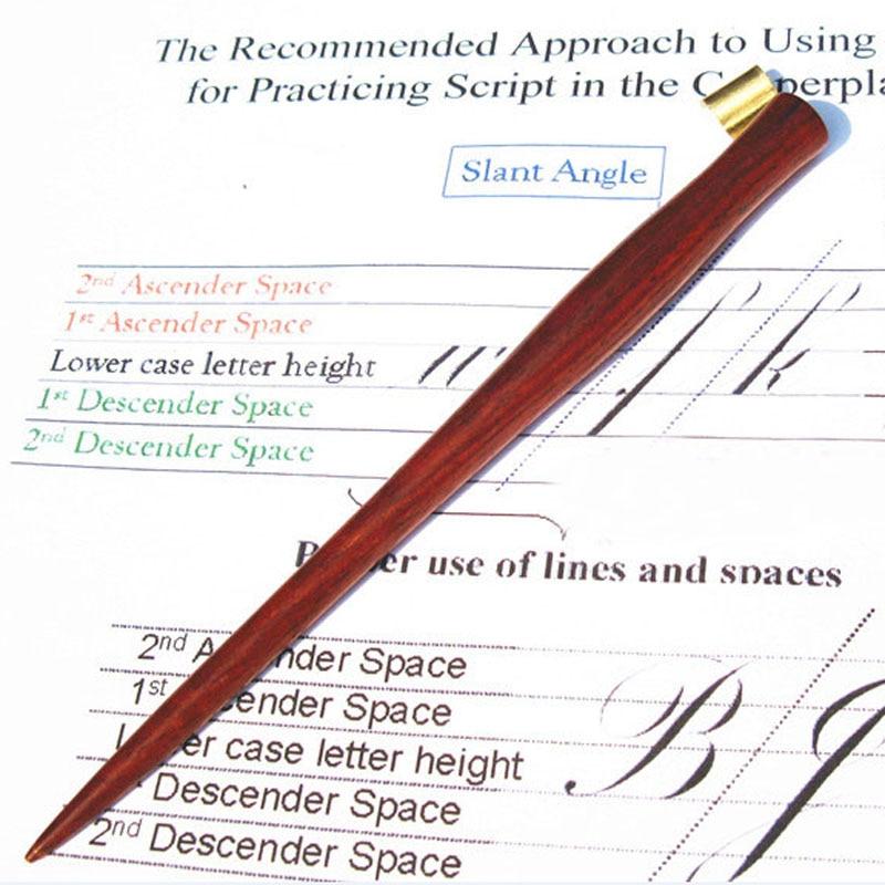 10 pieces per lot 2017 New Handmade Rosewood Copperplate Script Oblique Dip Pen Holder Best Gift Calligraphy Dip Pen<br><br>Aliexpress