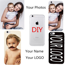 OEM DIY Customized Phone Coque For Samsung Galaxy S6 Edge G9250 S6 G9200 Case Hard PC Back Cover personlized Name Photo