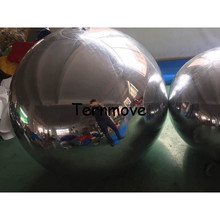 giant inflatable mirror ball for decoration PVC inflatable christmas ornaments ball advertising inflatable mirrored balloon(China)