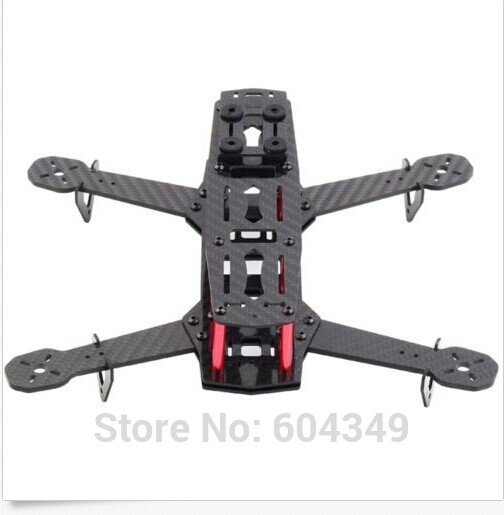 Real Carbon Fiber 250mm Mini FPV Quadcopter Frame Kit /4 Axis Mulitcopter QAV250<br><br>Aliexpress