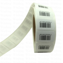 10000pcs Custom Barcode Printed Alien RFID Tags RFID Paper Roll Labels Small Size UHF RFID Tags 915mhz Adhesive Labels