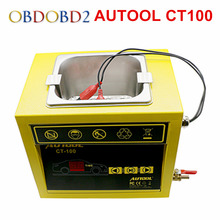 AUTOOL CT-100 Gasonline Car Motorcycle Auto Ultrasonic Injector Cleaning Machine 220V 110V CT100 MINI Fuel Injector Cleaner(China)