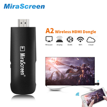Mirascreen A2 HDMI WiFi Dongle Chromecast 2 mirroring multiple TV stick Chromecast 2 Adapter Mini PC Android Chrome Cast Google(China)