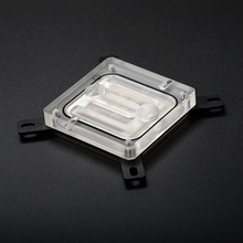 Syscooling SC-C26 water cooling cpu clock computer cpu water block transparent acrylic cover(China)
