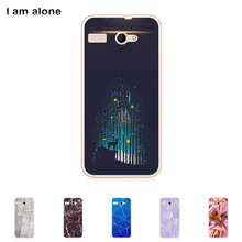 High Quality Case For Micromax Bolt Q346 4.5 inch Mobile Phone Soft TPU Silicone Color Paint Cover Shipping Free