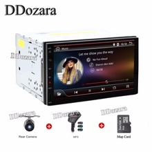 Full touch screen Android 6.0 In dash 2DIN Car Dvd GPS Player Dvb-t Digital TV optional) Navigation Stereo Radio video Map PC
