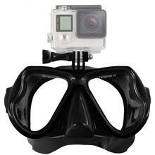 Underwater Diving Mask Sports Camera Tempered Glass Lens Adult Diving Goggles for Gopro Accessories