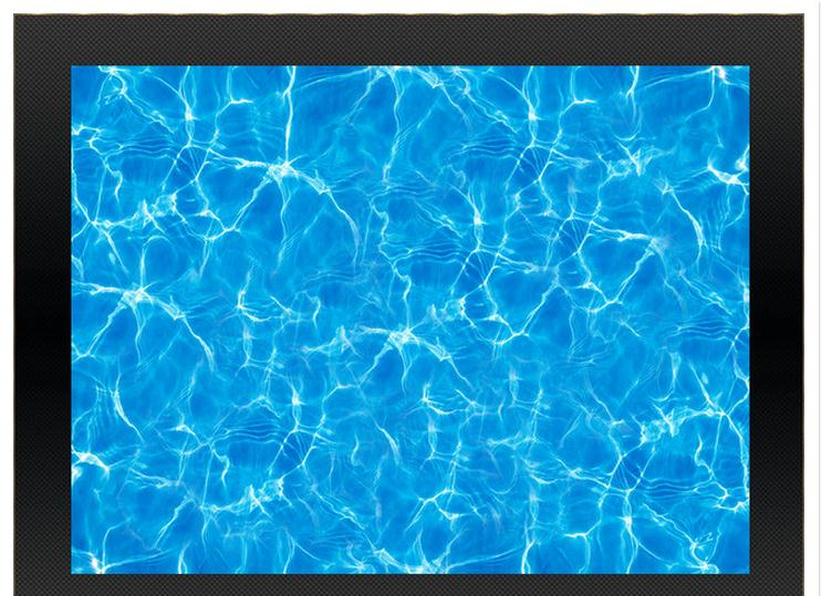 3d photo wallpaper custom mural pvc wallpaper Sea water ripple 3D  bathroom floor painting<br>