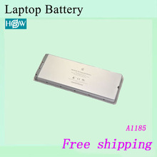Free shipping Brand New  Original  laptop  Battery   For apple  A1185