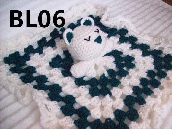 Teddy Bear Crochet Baby Blanket<br><br>Aliexpress