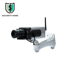 Battery Powered Practical Realistic Dummy Camera Surveillance CCTV Security Camera Motion Detection Sensor Activation light