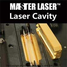 Replace of YAG Laser Tag Equipment Laser Welding Machine Yag Marking Machine Laser Cavity Golden Chamber Body Length 120mm(China)