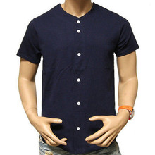 Men's Fashion Baseball Jersey T-Shirt Plain Blank Color Team Sports Casual Tee