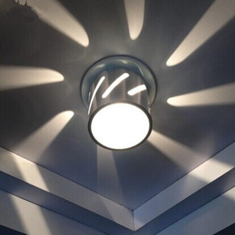 Corridor Ceiling Light 3W 220V Lamp Recessed Aisle Corridor Lights Ceiling Down Entrance Light Living Room luminarias<br>