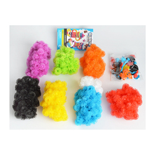Colorful Magic Puffer Ball 1200 Pcs Accessories Building Mega Pack Animals DIY Assembling Block Toy Sets For Children's toys(China)