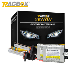 Quick Start 55W Ballast 12V HID Xenon Conversion Headlight Kit H1 H3 H7 H4-1 H8 H9 H11 HB3 HB4 4300K 6000K 8000K 12000K 35W Bulb