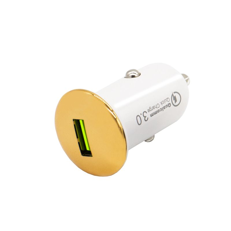 Car charger Quick charge 3.0 golden