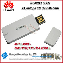 Freep Shipping Brand New Original Unlock HSPA+ 21.6Mbps HUAWEI E369 3G USB Modem And 3G USB Dongle