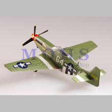 EASY MODEL 37294 1/72 Assembled Model Scale Finished Model Scale Airplane Scale WW II Aircraft Warbird P51 MUSTANG P-51D 1944(China)
