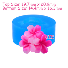 HYL294U 20.9mm Flower Silicone Mold - Sugarcraft, Fondant, Cake Decorating, Gum Paste, Chocolate, Resin Polymer Clay, Jewelry(China)
