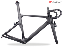 DeliHea Carbon Road Bike Frame Free Shipping Factory Direct Sale T1000 Racing Bicycle Frame BB68 Customization Acceptable(China)