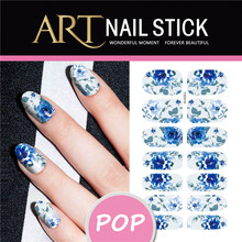 Xmax Nails Sticker Christmas Snowflake Nail Art Sticker Flash Diamond Designs Nail Wraps Foils Manicure Decoration
