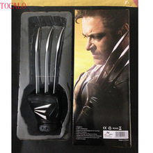 40cm 1PCS X Man Wolverine Claws Glove Cosplay Anime X-man Action Figure Marvel Movie Character Collection Models With Box
