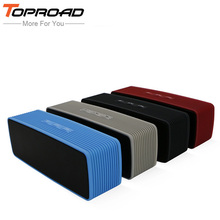 TOPROAD Wireless mini Bluetooth Speaker Stereo Super Bass altavoz Blutooth Speakers FM TF Soundbar Boombox for Xiaomi iPhone(China)
