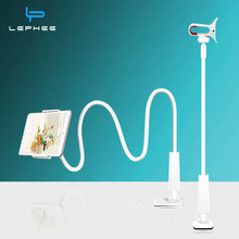 LEPHEE Mobile Phone Holder Universal Flexible Long Arms Tablet Phone Holder Desktop Bed Lazy Clip Bracket Stand for iPhone IPad