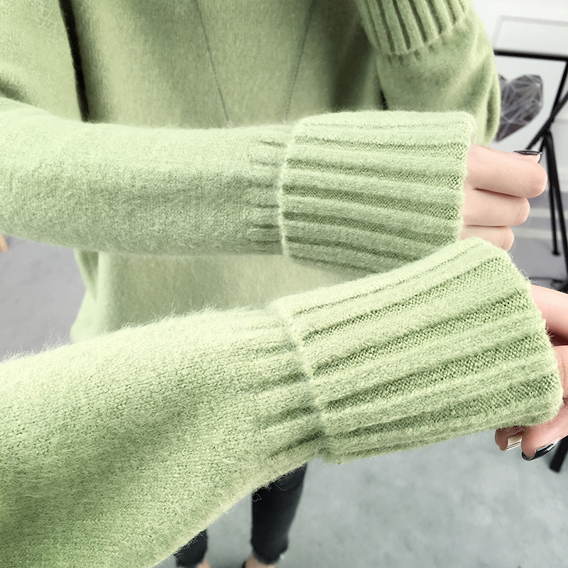 Winter Turtleneck Sweater, Women's 2017 New Design Thick Pullover 23