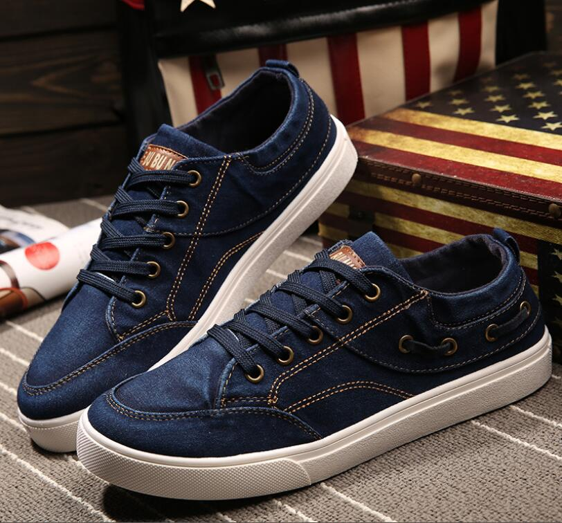 2017 new mens casual canvas shoes, mens shoes, mens outdoor casual shoes cowboy<br><br>Aliexpress